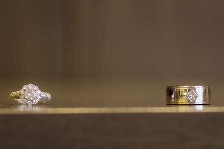 wedding rings 스톡 콘텐츠
