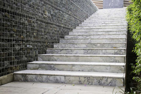 concrete stairs: Marble stairs