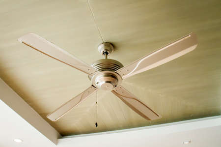 Picture of ceiling fan inside the living room photo