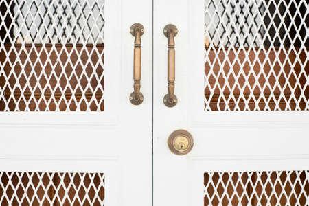 Wooden doors photo