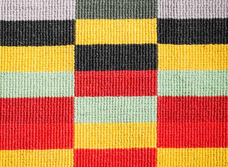 Textura de la alfombra colorida. Foto de archivo - 31165639