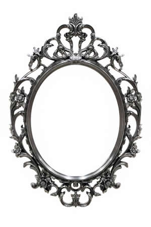 Black Vintage frame isolated on white background