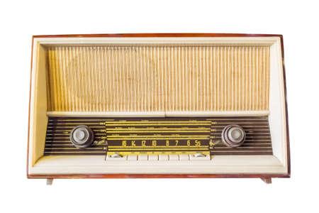 Classic radio photo