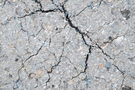 grit: Cracked road