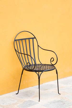 elbow chair: Iron chair