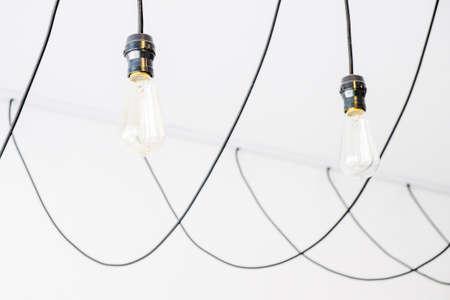 hanging lamp: Modern hanging lamp Stock Photo