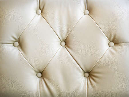 brown leather sofa: Closeup texture of vintage brown leather sofa for background