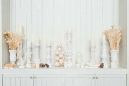 candlestick decoration photo