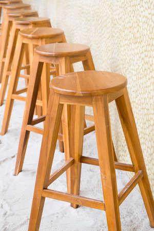 stool: round top maka wood stool