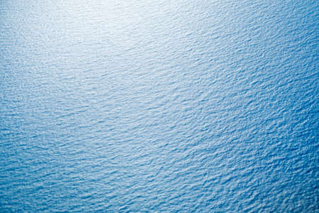 Blue sea surface with waves Stock Photo - 35039037