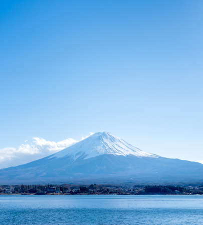 unesco: Mt Fuji view from the lake