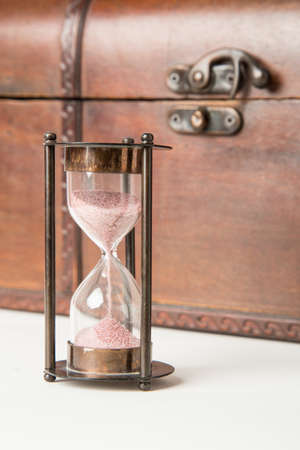 hourglass , sandglass