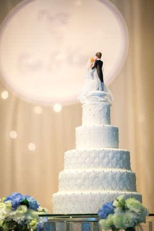 Wedding Cake 스톡 콘텐츠