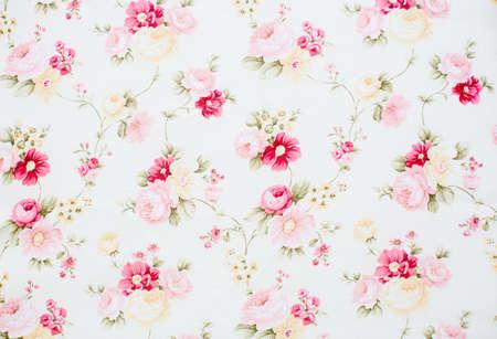 Tela floral del vintage Foto de archivo - 37113509