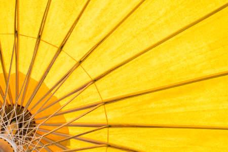yellow umbrella background 写真素材