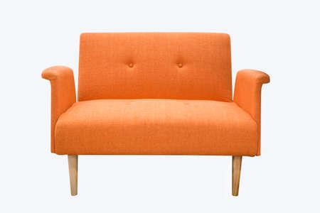 Sofa Möbel isoliert auf weißem Hintergrund