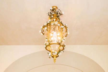 vintage chandelier: vintage chandelier in classic room
