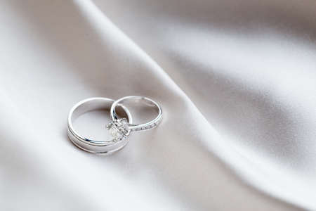 Wedding rings Stock Photo - 46376256