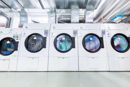 water spinning in Dryers machine Standard-Bild