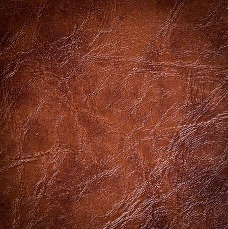 braunem Leder Textur Hintergrund Oberfläche