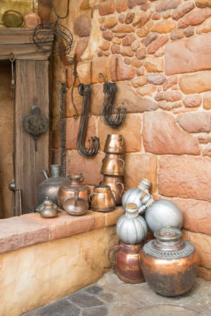 wares: old Arabian brass wares