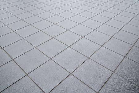 tiled floor: Tiled floor Stock Photo