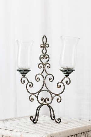 candlestick: Vintage candlestick Stock Photo