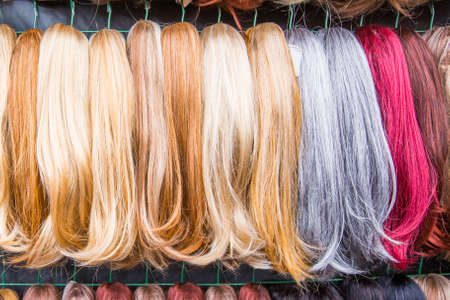 hairpiece: Different colored hairpiece for women