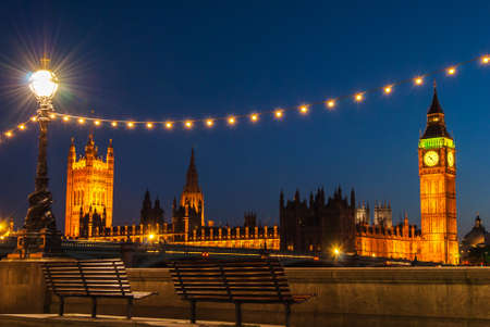Big Ben Clock Tower and Parliament house at city of westminster