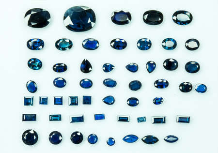 dazzlingly: Collection of blue sapphire