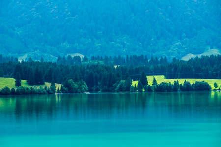 beauty lake in Austria