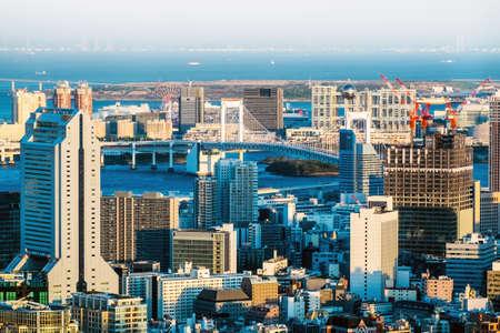 Tokyo cityscape,buildings exterior Stock Photo