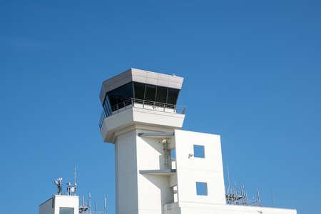 control tower in Hakodate Airport, Japan