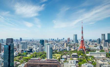 Tokyo tower, landmark of Japan