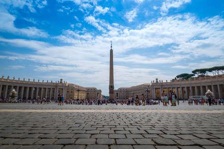 VATICAN CITY, VATICAN - July 22, 2017 : Basilica of Saint Peter in the Vatican
