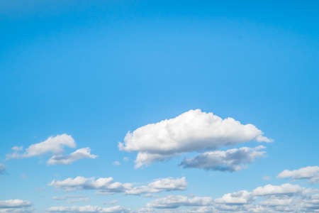 Blue sky with cloud for background