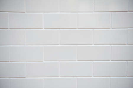 white tile: wall