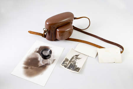 old photographic camera Stock Photo - 17440427