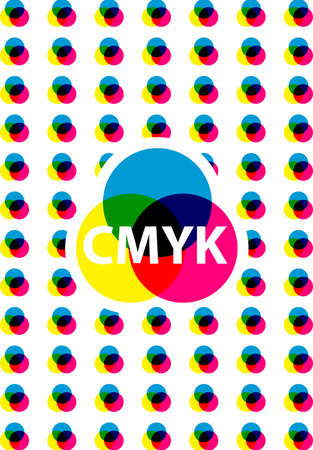 cmyk colors Vector