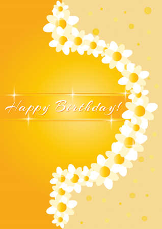 greeting card gold Vector