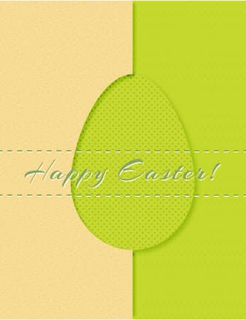 happy easter card Stock Vector - 17248843