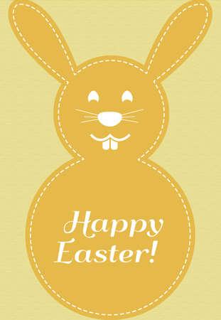 rabbit greeting Stock Vector - 17248835