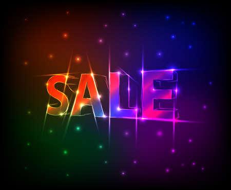 sale text Stock Vector - 17275741