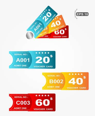 prepaid card: voucher card