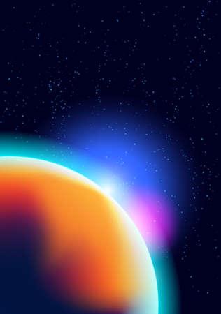 cosmic background Stock Vector - 17905672