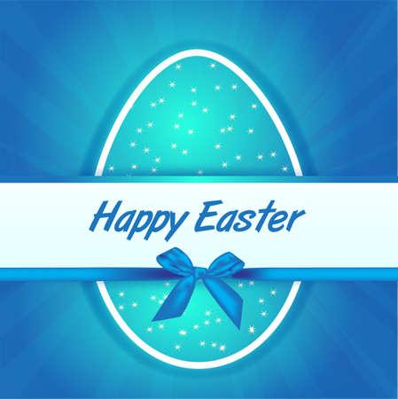blue eggs Easter  Stock Vector - 18261646