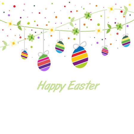 Easter spring card Stock Vector - 18261620