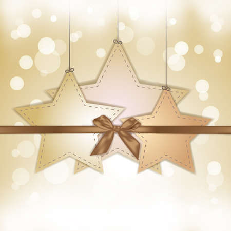 gold star gift Stock Vector - 18423088