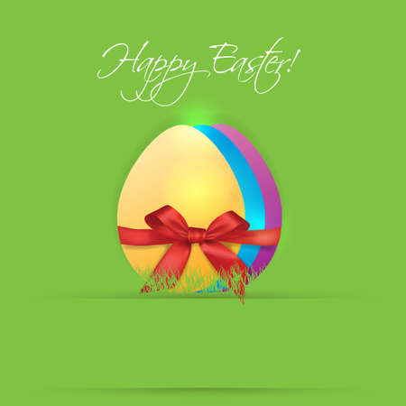 three eggs colored gift Stock Vector - 18755152