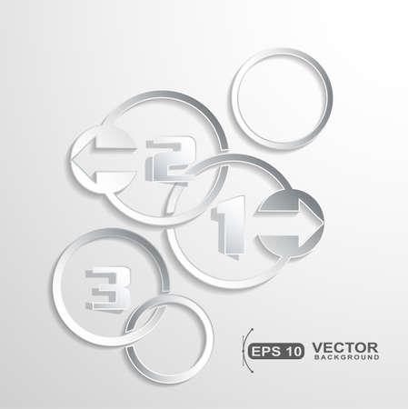 Presentation option left right direction Stock Vector - 20367115